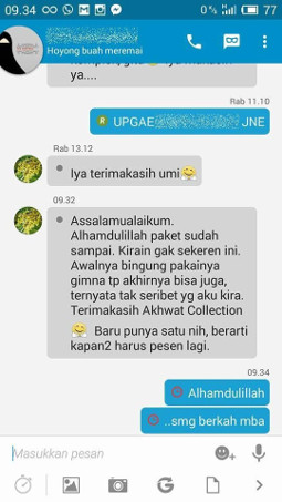 Testimoni Akhwat Collection